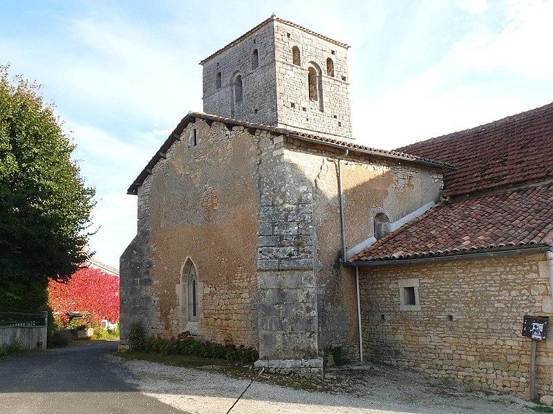 Photo du Monument Historique Eglise Saint-Hilaire situé à Couture