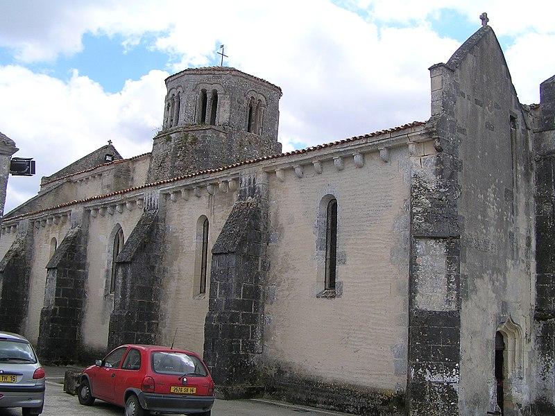 Photo du Monument Historique Eglise Saint-Macrin-Saint-Jean-Baptiste situé à Criteuil-la-Magdeleine