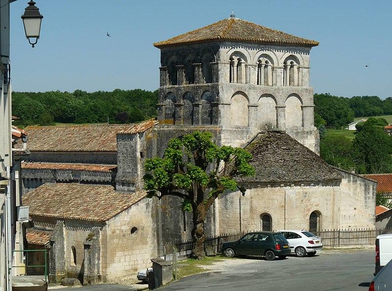 Photo du Monument Historique Eglise Saint-Cybard situé à Dignac