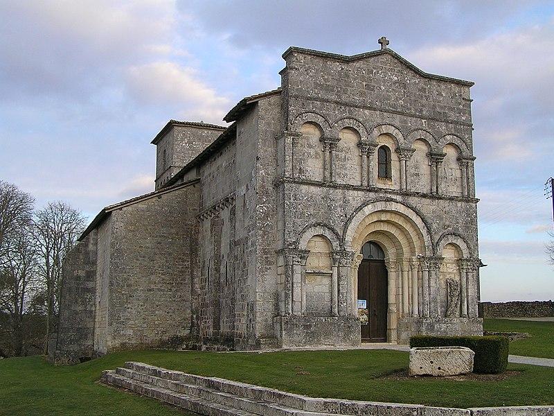 Photo du Monument Historique Eglise Saint-Martial situé à Dirac