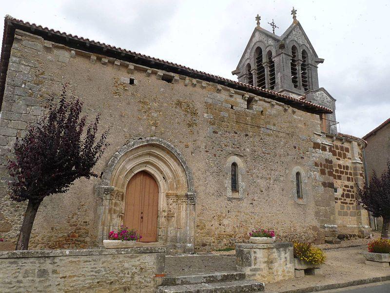 Photo du Monument Historique Eglise Saint-Hilaire situé à Epenède