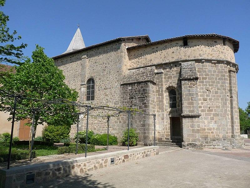 Photo du Monument Historique Eglise Saint-Etienne situé à Esse