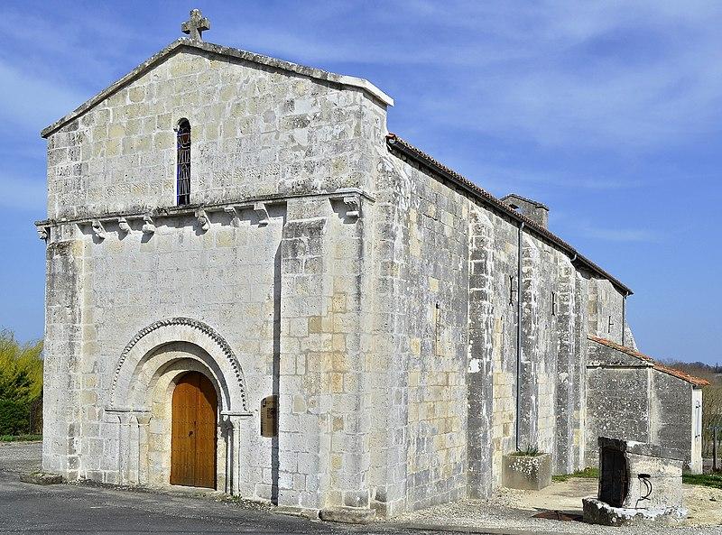 Photo du Monument Historique Eglise Saint-Germain situé à Etriac