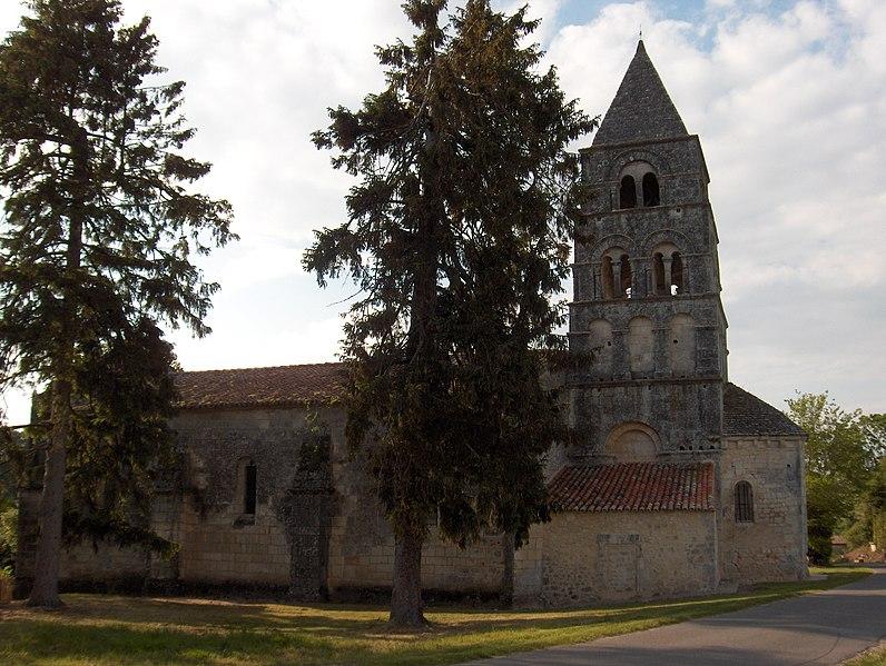 Photo du Monument Historique Eglise Notre-Dame situé à Gardes-le-Pontaroux