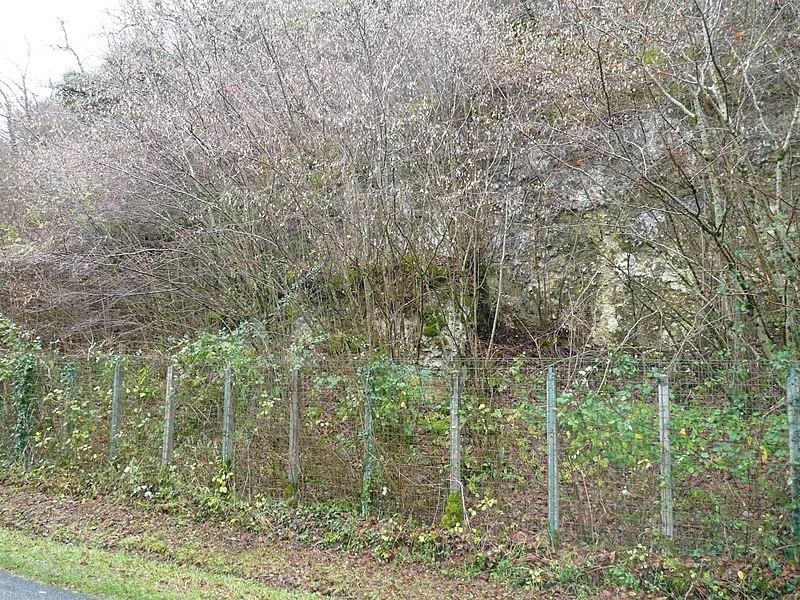 Photo du Monument Historique Gisement paléolithique dénommé Gisement de la Quina situé à Gardes-le-Pontaroux