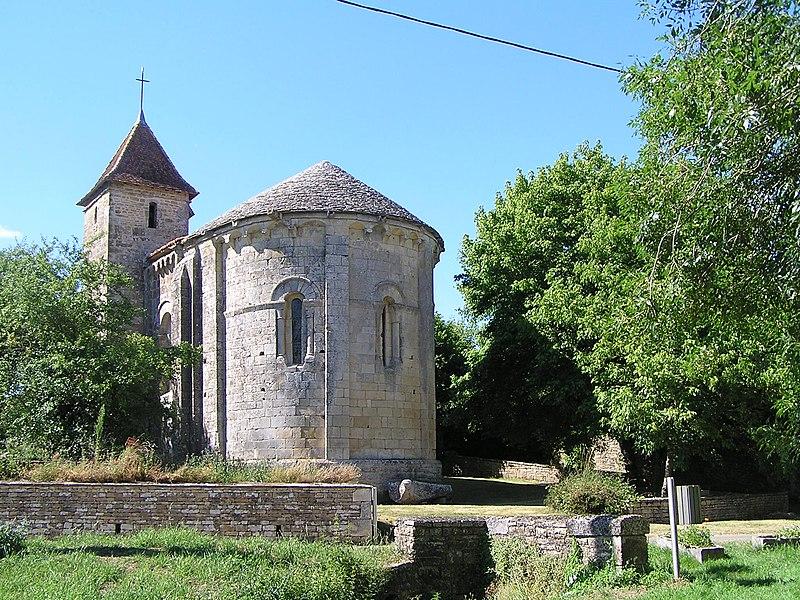 Photo du Monument Historique Eglise Saint-Maixent situé à Empuré