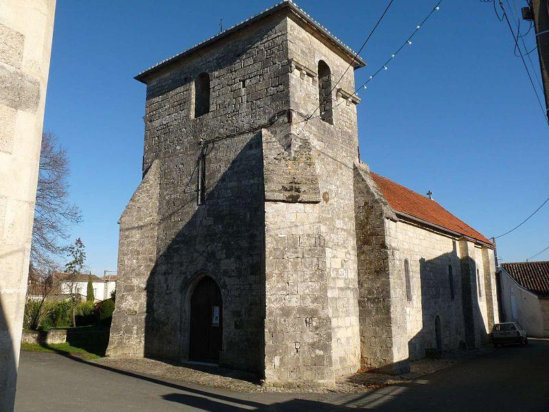 Photo du Monument Historique Eglise Saint-Thomas situé à Hiersac
