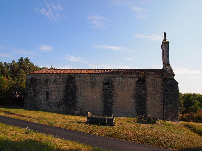 Photo du Monument Historique Eglise de Saint-Palais-des-Combes situé à Lignières-Sonneville