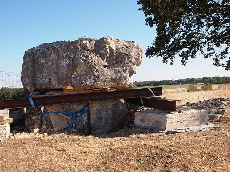 Photo du Monument Historique Dolmen de la Folatière situé à Luxé