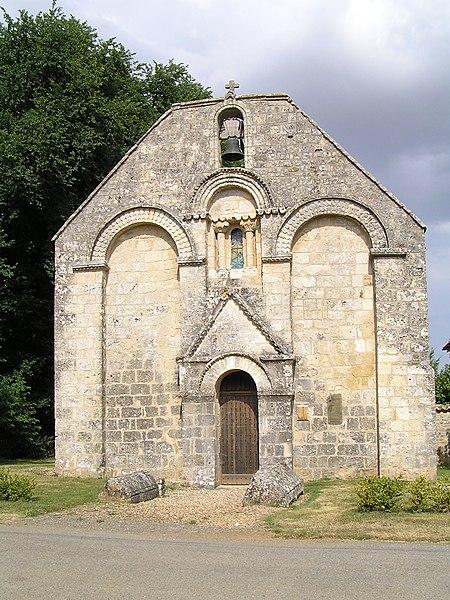 Photo du Monument Historique Eglise Sainte-Madeleine situé à La Magdeleine