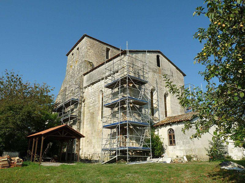 Photo du Monument Historique Eglise Saint-Etienne situé à Magnac-Lavalette-Villars