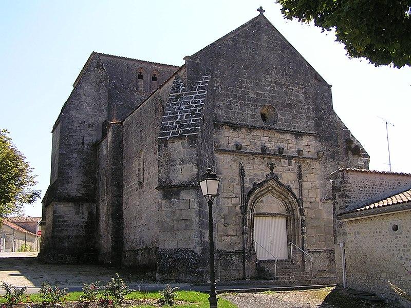 Photo du Monument Historique Eglise Saint-Saturnin situé à Malaville