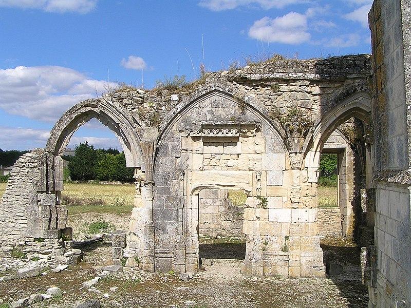 Photo du Monument Historique Ancien prieuré de Lanville situé à Marcillac-Lanville