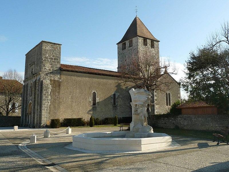 Photo du Monument Historique Eglise Saint-Didier situé à Marillac-le-Franc
