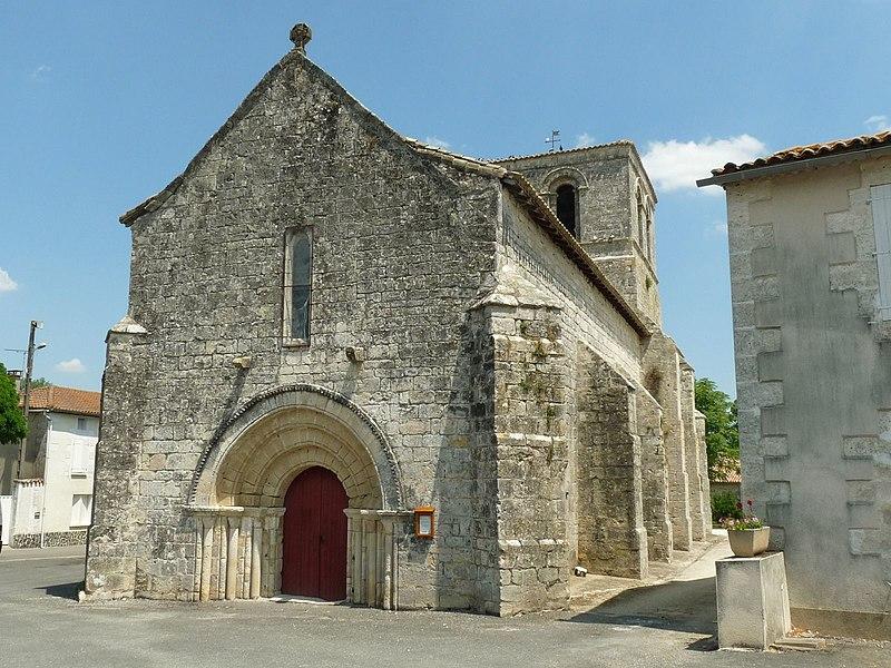 Photo du Monument Historique Eglise Saint-Gervais-Saint-Protais situé à Marsac