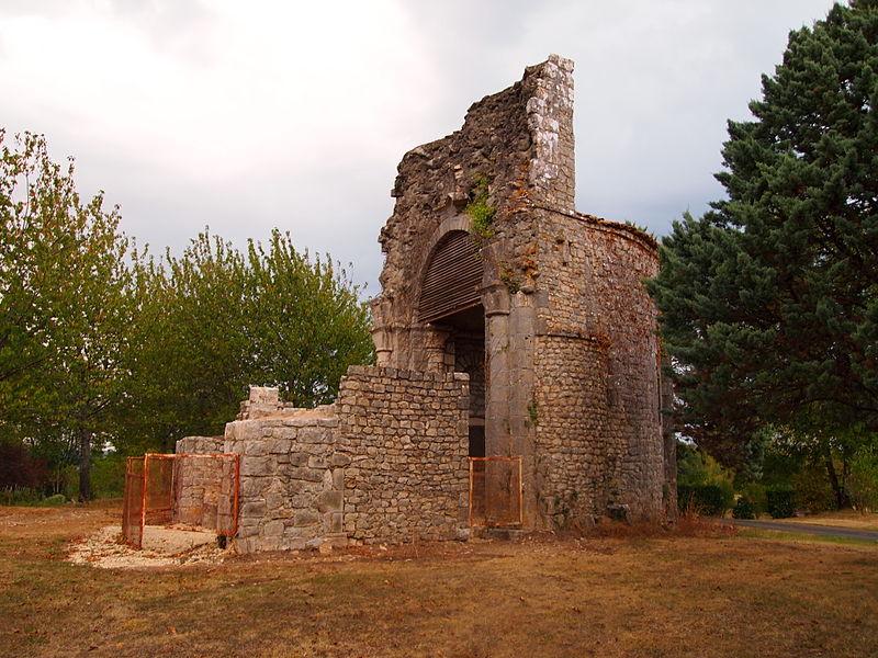 Photo du Monument Historique Prieuré Saint-Sylvestre-de-Saint-Sauveur situé à Marthon