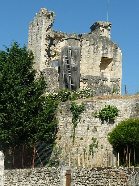 Photo du Monument Historique Vieille Tour situé à Marthon