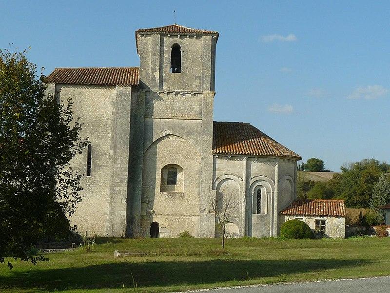 Photo du Monument Historique Eglise Saint-Hilaire situé à Péreuil