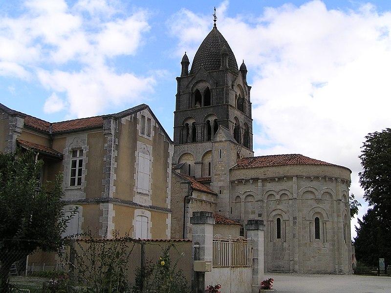 Photo du Monument Historique Eglise Saint-Gervais - Saint-Protais situé à Pérignac