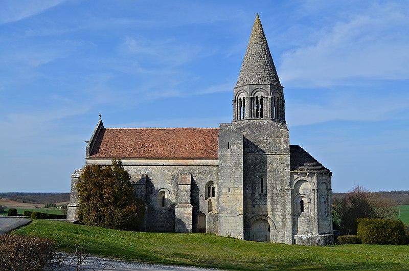 Photo du Monument Historique Eglise Saint-Cybard situé à Plassac-Rouffiac
