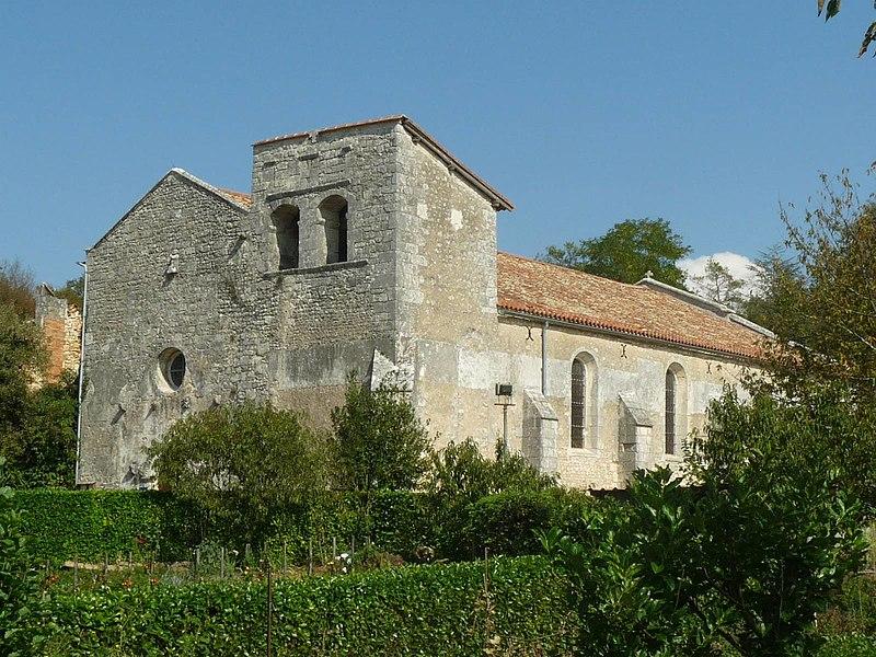 Photo du Monument Historique Eglise Saint-Cybard situé à Pranzac