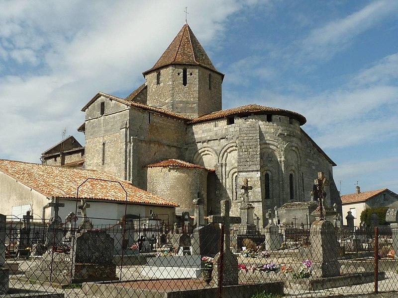 Photo du Monument Historique Eglise Saint-Pierre situé à Reignac