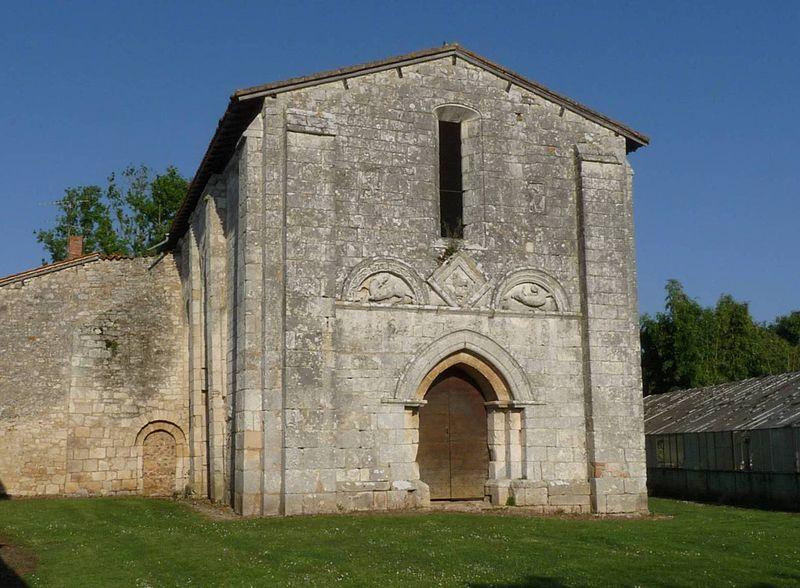 Photo du Monument Historique Eglise d'Olérat situé à La Rochefoucauld