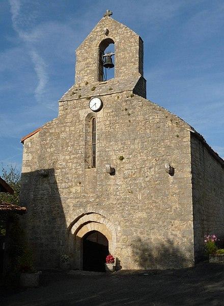 Photo du Monument Historique Eglise de Saint-Sulpice situé à Ruffec