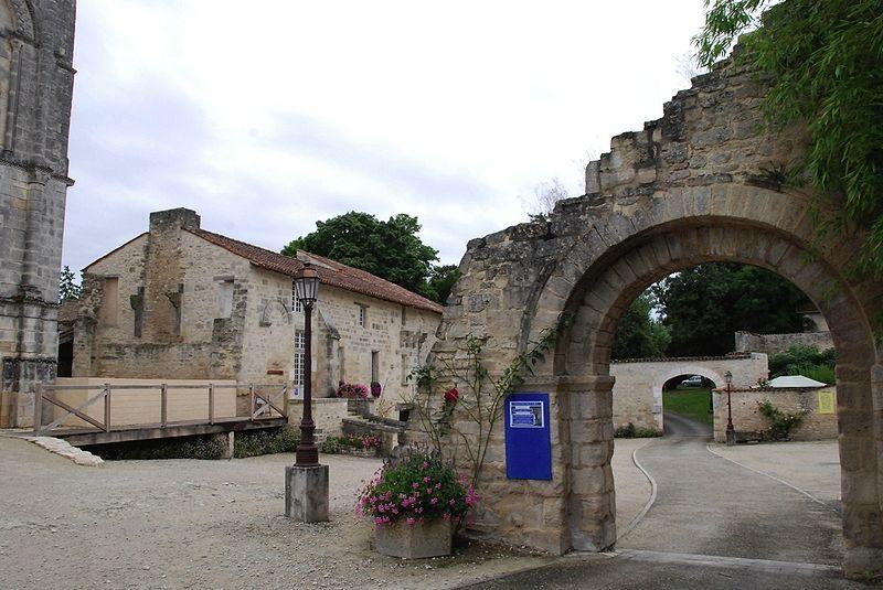Photo du Monument Historique Ancienne abbaye situé à Saint-Amant-de-Boixe