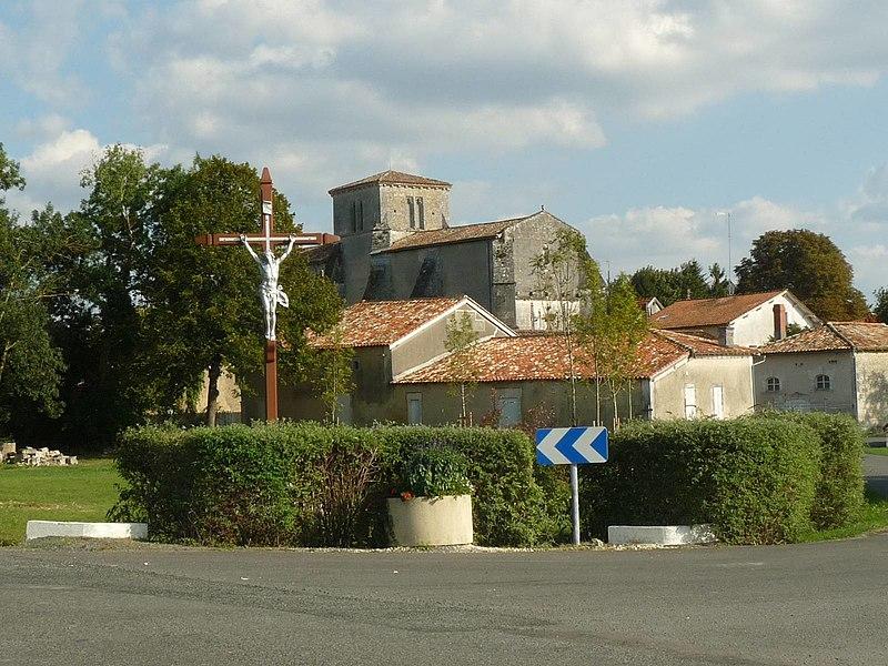 Photo du Monument Historique Eglise Saint-Bonnet situé à Saint-Bonnet