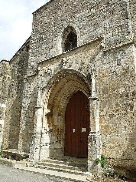 Photo du Monument Historique Eglise Saint-Claud situé à Saint-Claud