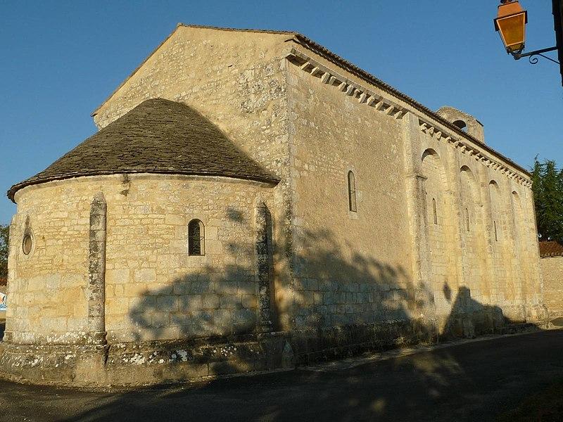 Photo du Monument Historique Eglise Sainte-Colombe situé à Sainte-Colombe