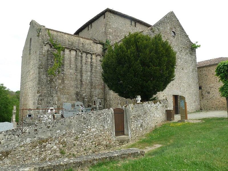 Photo du Monument Historique Eglise Saint-Germain situé à Saint-Germain-de-Confolens