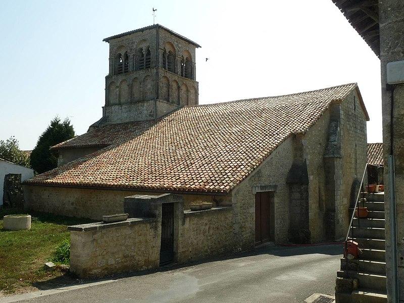 Photo du Monument Historique Eglise Saint-Germain situé à Saint-Germain-de-Montbron