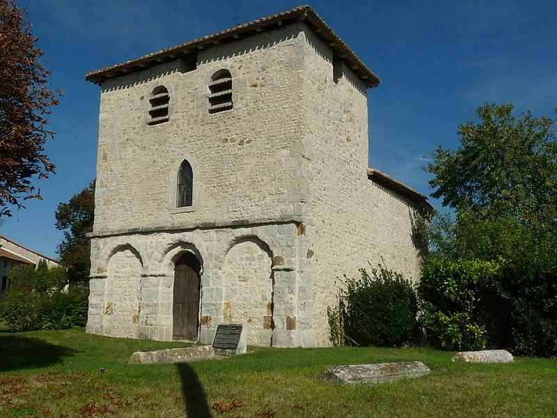 Photo du Monument Historique Eglise Saint-Nicolas-de-Peudry situé à Saint-Martial
