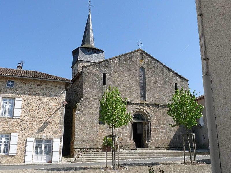 Photo du Monument Historique Eglise Saint-Maurice situé à Saint-Maurice-des-Lions
