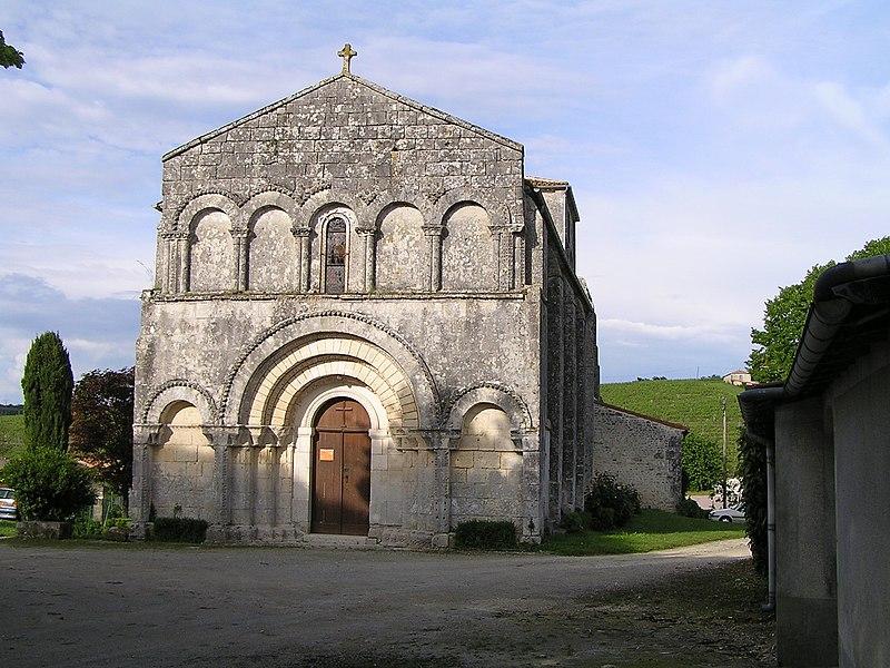 Photo du Monument Historique Eglise Saint-Laurent situé à Touzac