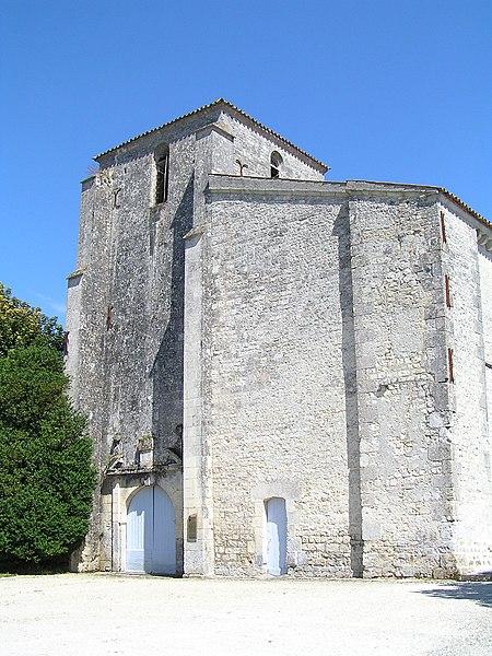 Photo du Monument Historique Eglise Saint-Palais situé à Verrières