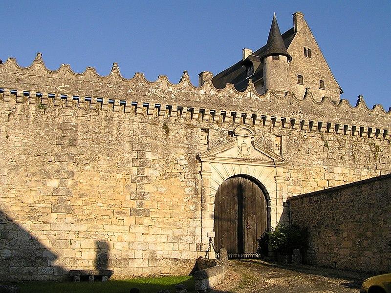 Photo du Monument Historique Château situé à Vouzan