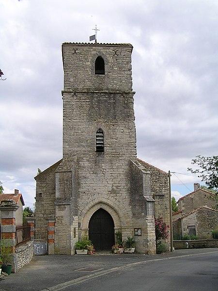 Photo du Monument Historique Eglise Notre-Dame-de-Tous-Biens situé à Xambes