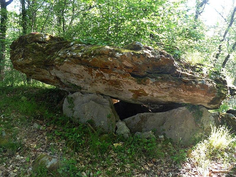 Photo du Monument Historique Nécropole d'Edon situé à Edon