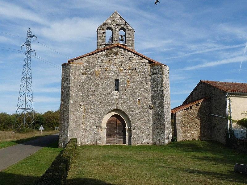 Photo du Monument Historique Chapelle du Boisaugeais situé à Nanteuil-en-Vallée