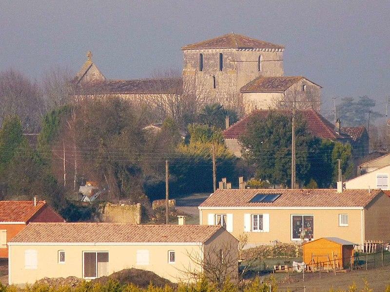 Photo du Monument Historique Eglise Saint-Fortunat situé à Saint-Fort-sur-le-Né