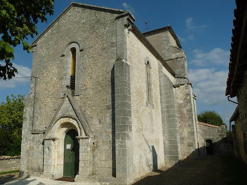 Photo du Monument Historique Eglise Notre-Dame situé à Vignolles