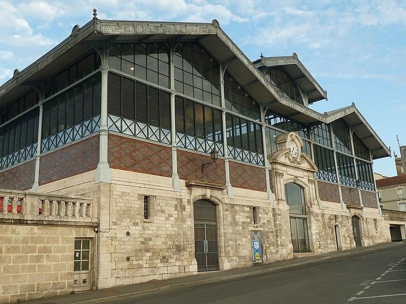 Photo du Monument Historique Halle situé à Angoulême
