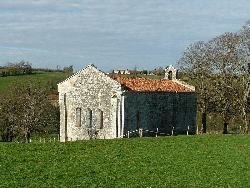 Photo du Monument Historique Ancienne commanderie de templiers Saint-Jean-Baptiste de Malleyrand situé à Yvrac-et-Malleyrand