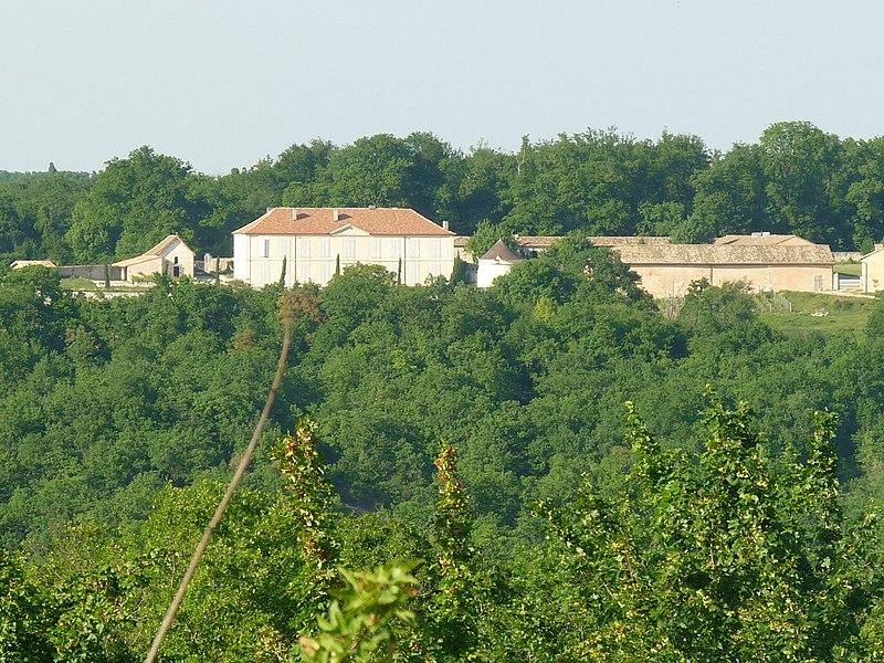 Photo du Monument Historique Logis de Frégeneuil situé à Soyaux