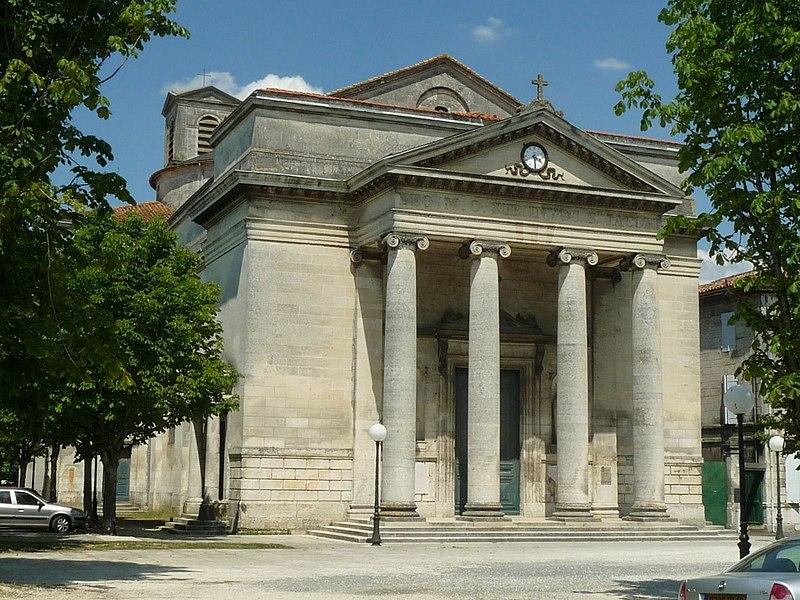 Photo du Monument Historique Eglise Saint-Jacques de Lhoumeau situé à Angoulême