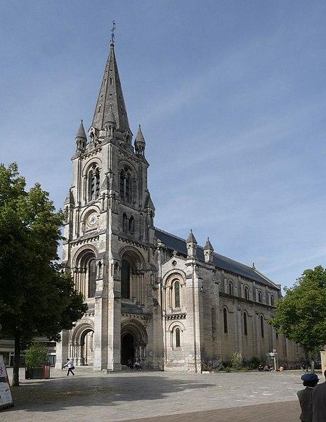 Photo du Monument Historique Eglise Saint-Martial situé à Angoulême