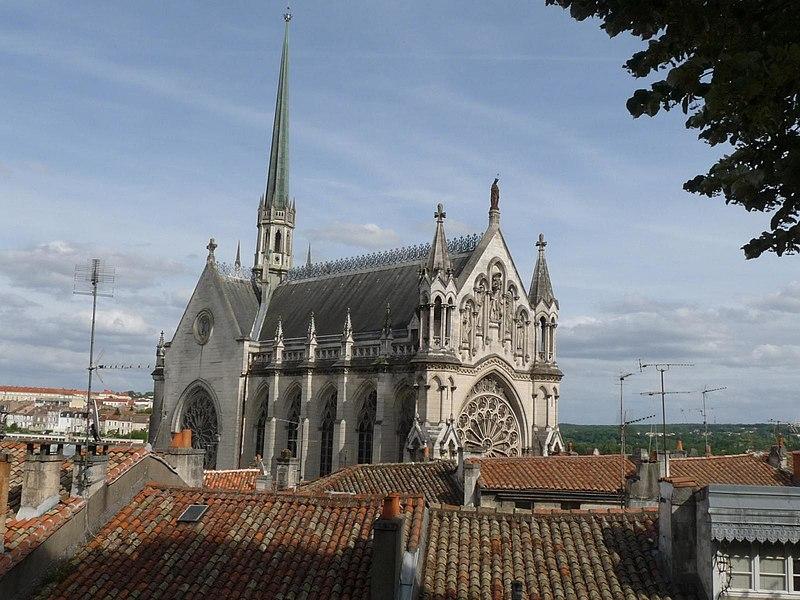 Photo du Monument Historique Eglise dite chapelle Notre-Dame d'Obézine (ou de Bézines) situé à Angoulême